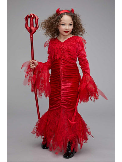Sweet Devil Costume for Girls