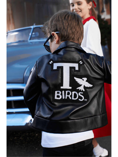 T-Birds™ Jacket Costume For Kids  bla alt1