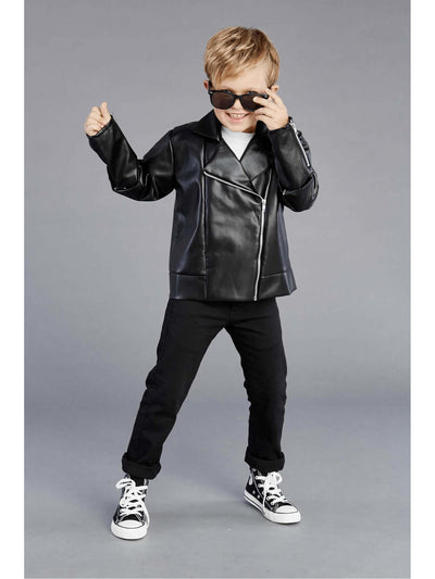 T-Birds™ Jacket Costume For Kids  bla alt2