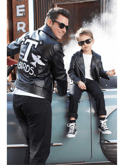 T-Birds™ Jacket Costume For Kids  bla alt3