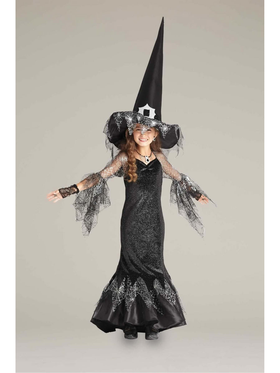 Spiderweb Witch Costume for Girls