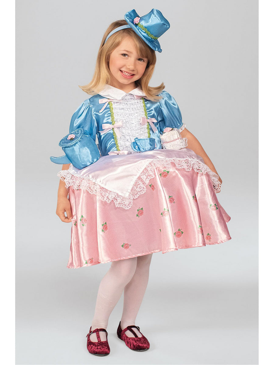 Tea Party Tabletop Costume for Girls