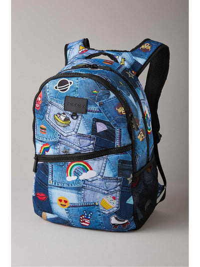Terez Denim Emoji Backpack