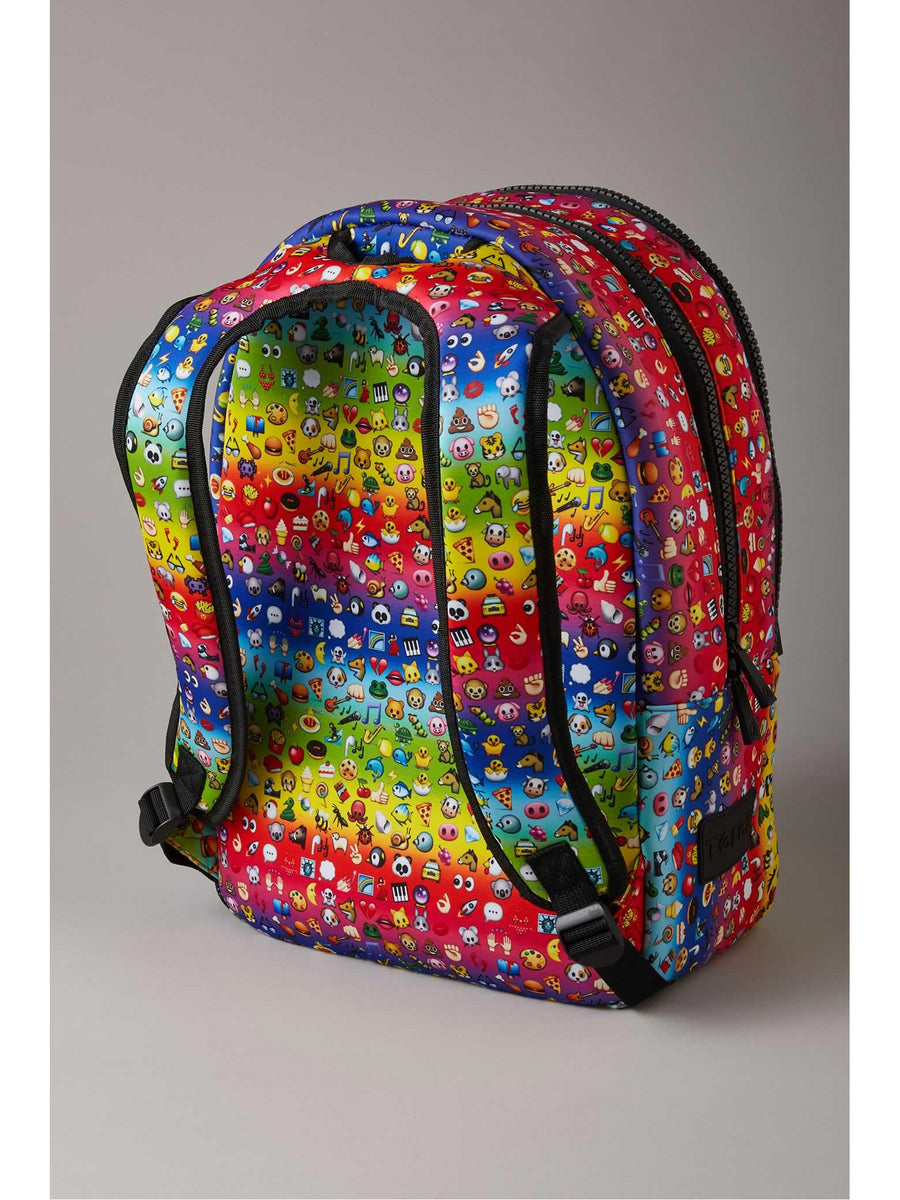 Terez Rainbow Emoji Backpack