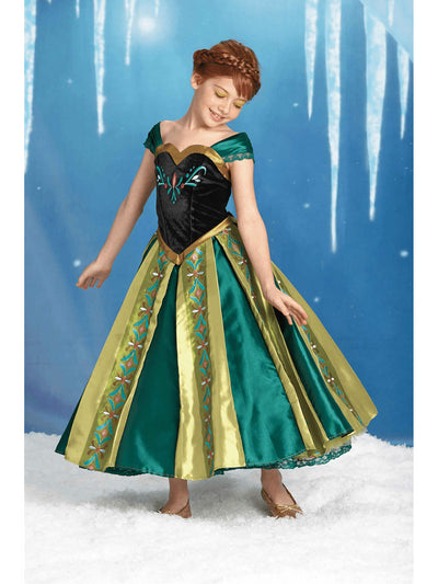 The Ultimate Collection Anna Costume for Girls  mlt alt1