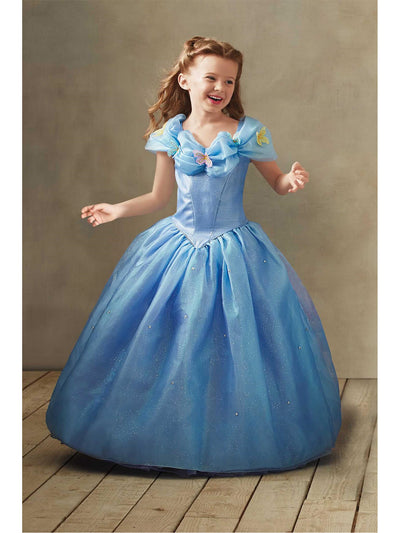 The Ultimate Collection Cinderella® Ball Gown For Girls  blu alt1
