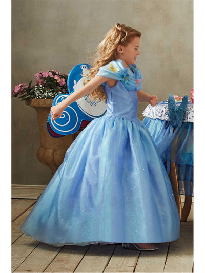 The Ultimate Collection Cinderella® Ball Gown For Girls  blu alt2