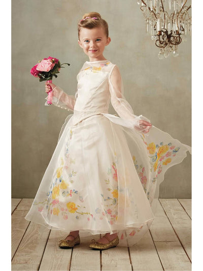 The Ultimate Collection Cinderella® Wedding Gown For Girls  ivo alt1