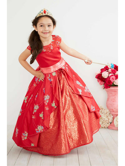 The Ultimate Collection Disney Elena of Avalor Costume For Girls  red alt1
