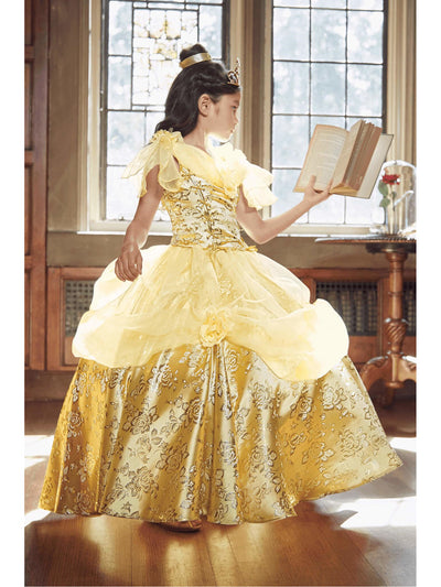 The Ultimate Collection Disney Princess Belle Costume For Girls  yel alt1