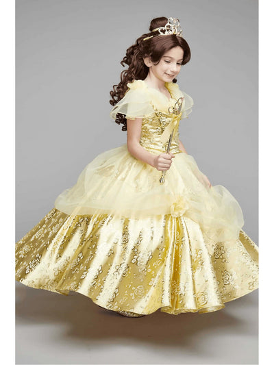 The Ultimate Collection Disney Princess Belle Costume For Girls  yel alt2