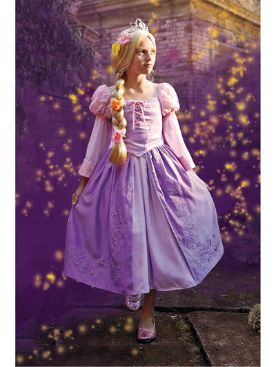 The Ultimate Collection Disney Princess Rapunzel Costume For Girls  lav alt1