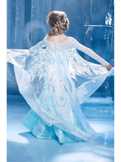 The Ultimate Collection Elsa Costume for Girls  blu alt2