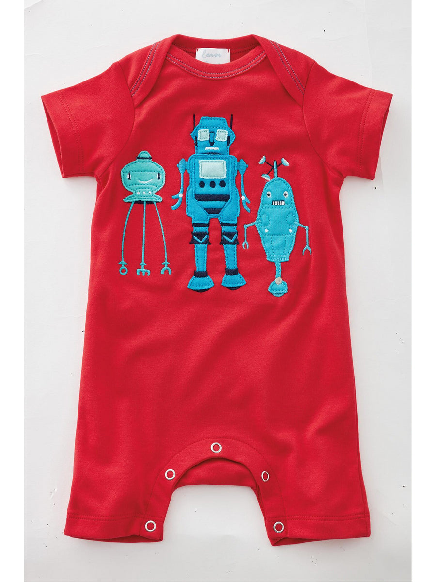 Three Musketeers Robot Romper for Baby