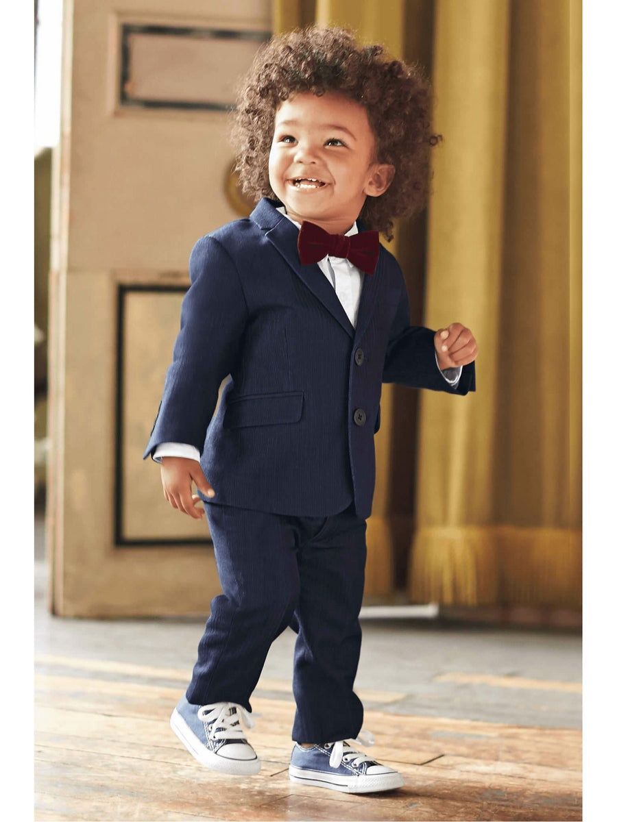 Toddlers Herringbone Mod Suit
