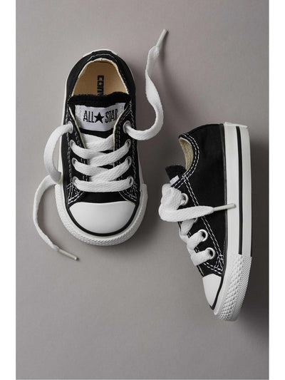 Toddlers Converse® Low-Top Chuck Taylors  bla 1