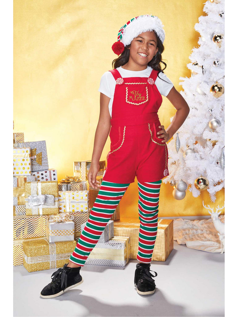 Toy Maker Elf Costume for Kids