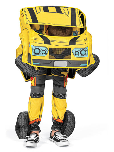 Transformers Bumblebee Converting Costume for Kids  ylw alt1