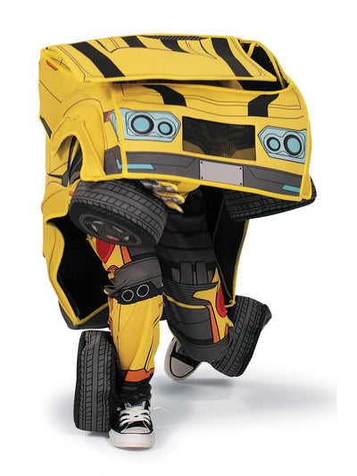 Transformers Bumblebee Converting Costume for Kids  ylw alt2