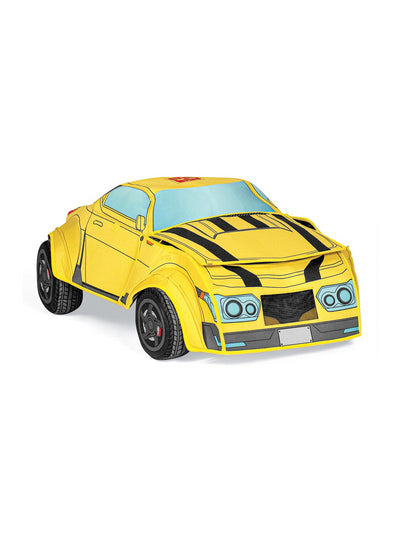 Transformers Bumblebee Converting Costume for Kids  ylw alt3