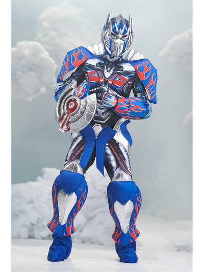 Transformers Optimus Prime Costume for Kids  blu alt1