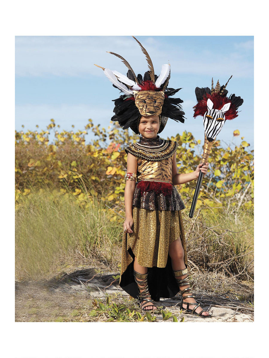 Tribal Queen Costume For Girls