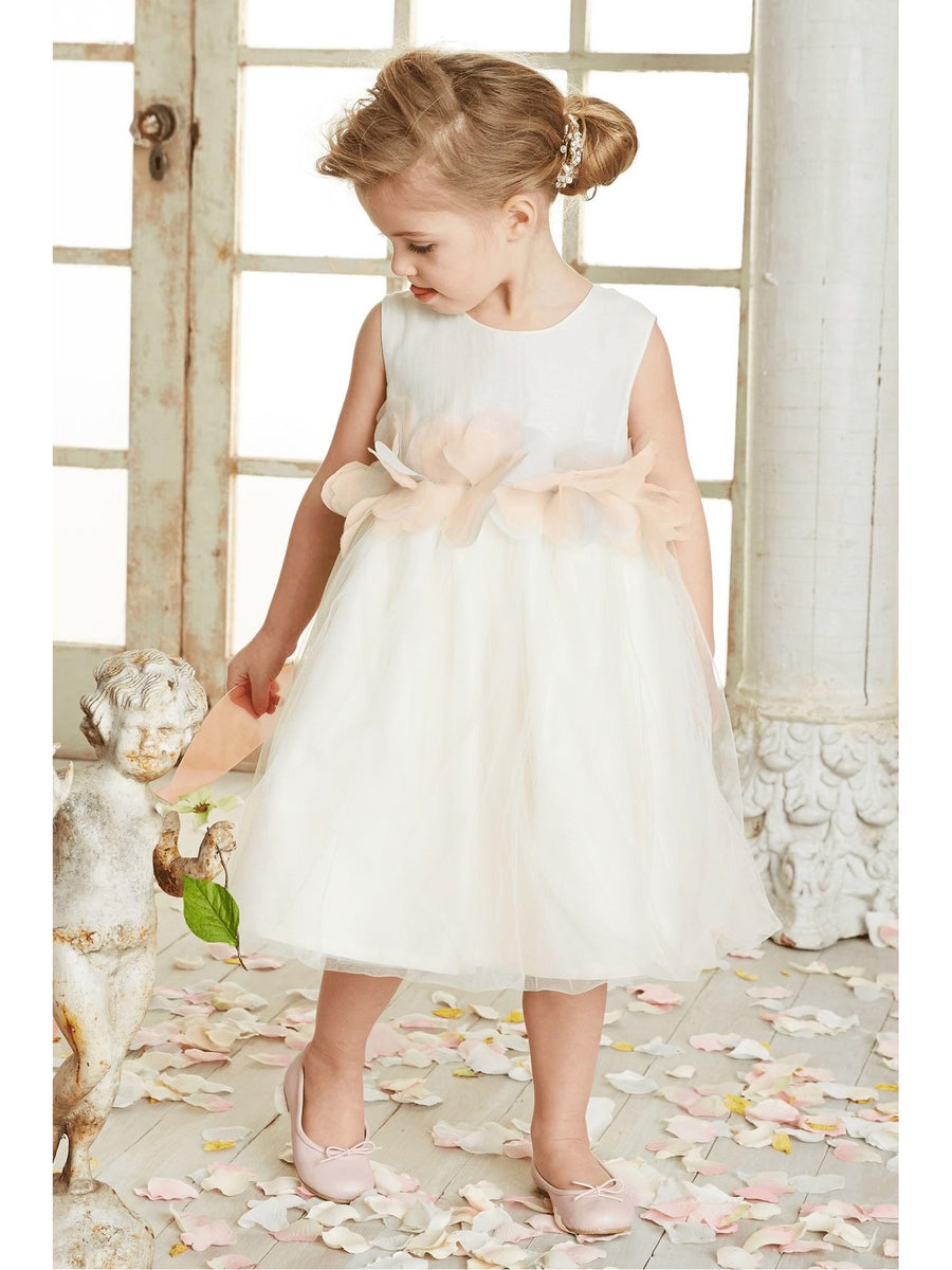 Tulle Blossom Dress for Girls