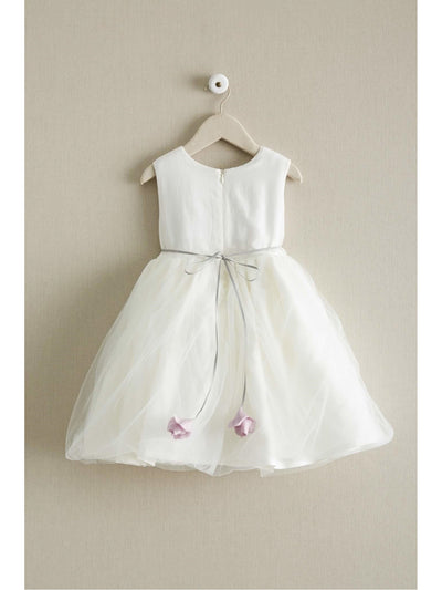 Tulle Blossom Dress for Girls  whi alt2