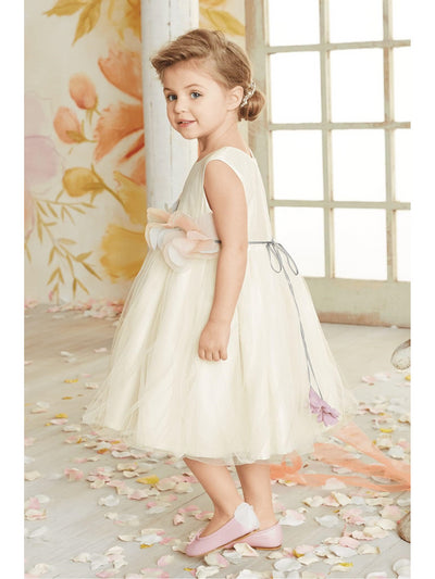 Tulle Blossom Dress for Girls  whi alt3