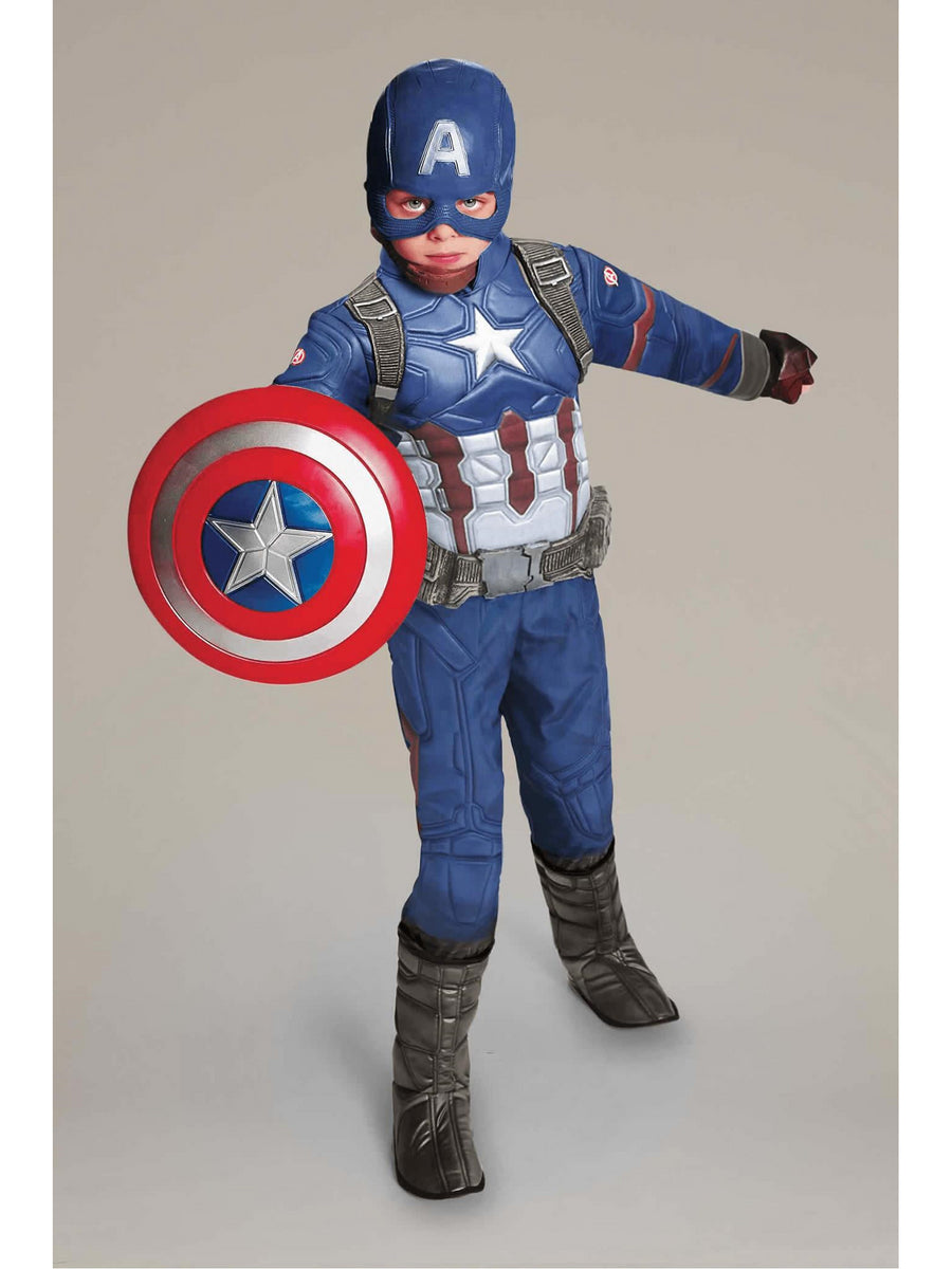 Ultimate Captain America® Costume For Kids - Civil War