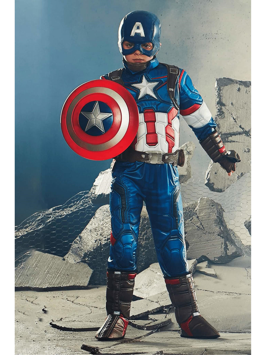 Ultimate Captain America® Costume For Kids