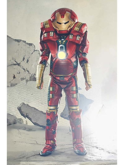 Ultimate Iron Man Costume For Kids - Hulk-Buster®  red alt1