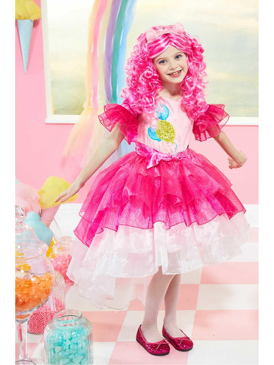 Ultimate My Little Pony Pinkie Pie Costume for Girls  pin alt1