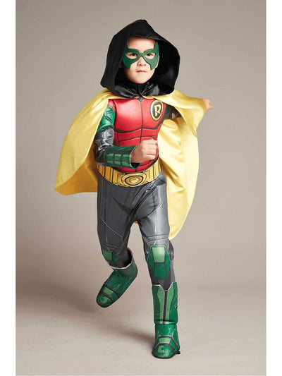 Ultimate Robin Costume For Kids  red 1