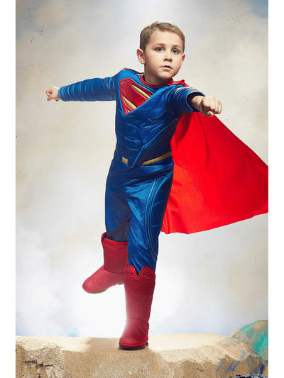 Ultimate Superman Costume For Kids - Dawn of Justice  mlt alt1
