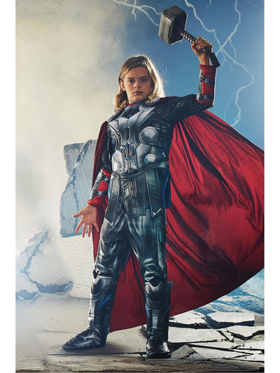 Ultimate Thor® Costume For Kids  mlt alt1