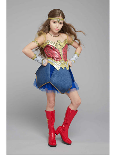 Ultimate Wonder Woman Costume For Kids - Dawn of Justice