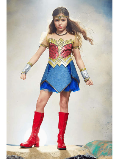Ultimate Wonder Woman Costume For Kids - Dawn of Justice  mlt alt1