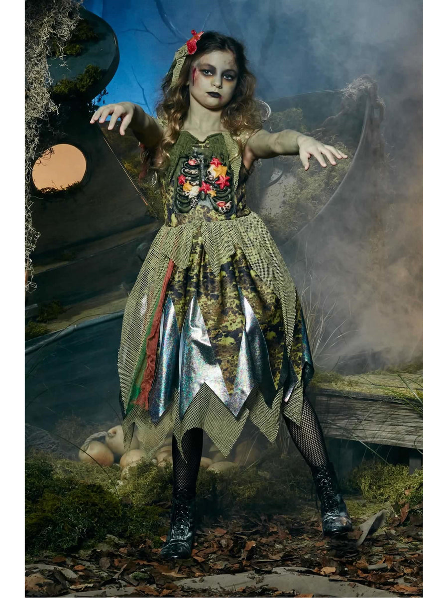 Underwater Zombie Girl Costume