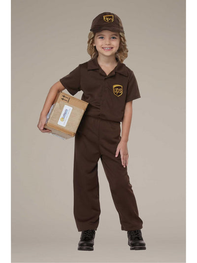 UPS Driver Costume for Kids  bro alt1