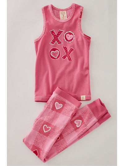 Valentine Plaid PJ's for Women