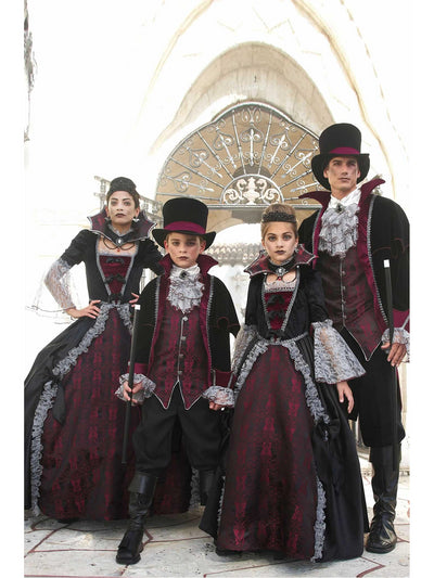 Vampire of Versailles Costume For Men  bla alt1