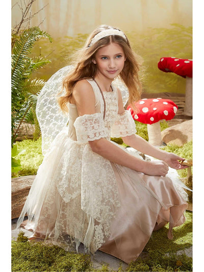 Vintage Boho Fairy Costume for Girls  cre alt1