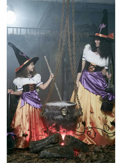 Vintage Witch Costume For Girls  mlt alt1