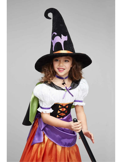 Vintage Witch Costume For Girls  mlt alt2