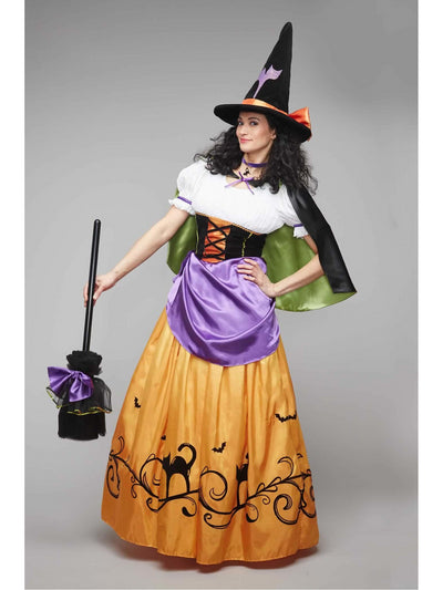 Vintage Witch Costume For Women
