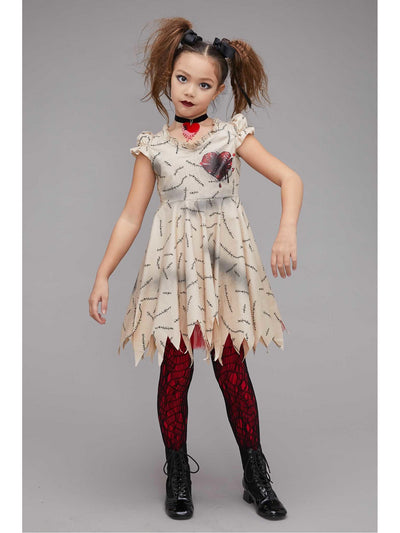 Voodoo Doll Costume for Girls
