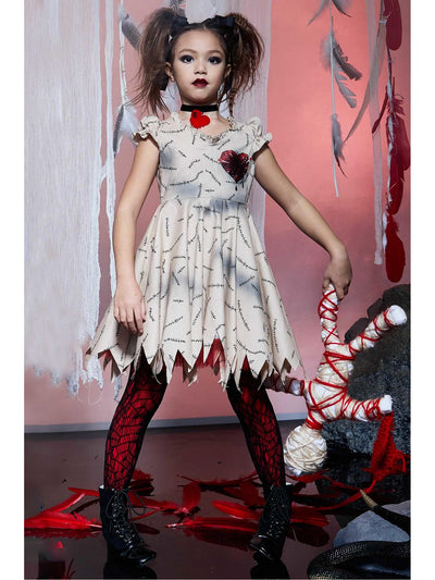 Voodoo Doll Costume for Girls  bro alt1