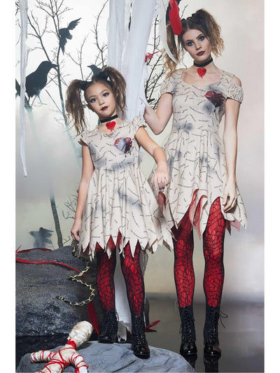 Voodoo Doll Costume for Girls  bro alt2