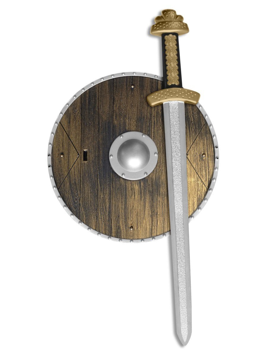 Weapons Set with Sword and Shield